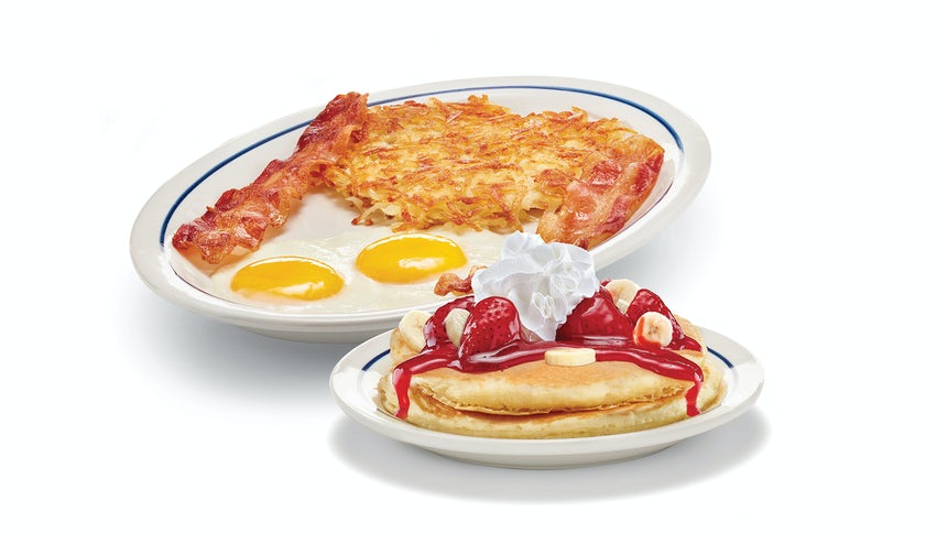 Create Your Own Pancake Combo Image