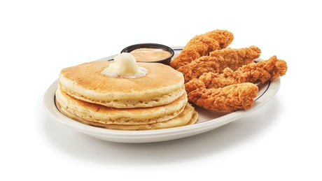 Chicken & Pancakes Image