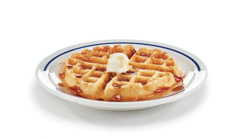 Gluten-Friendly Belgian Waffle Image