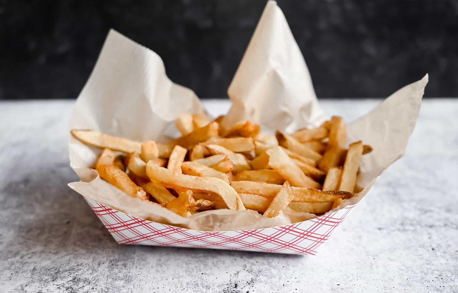 Basket of Fresh-Cut Fries