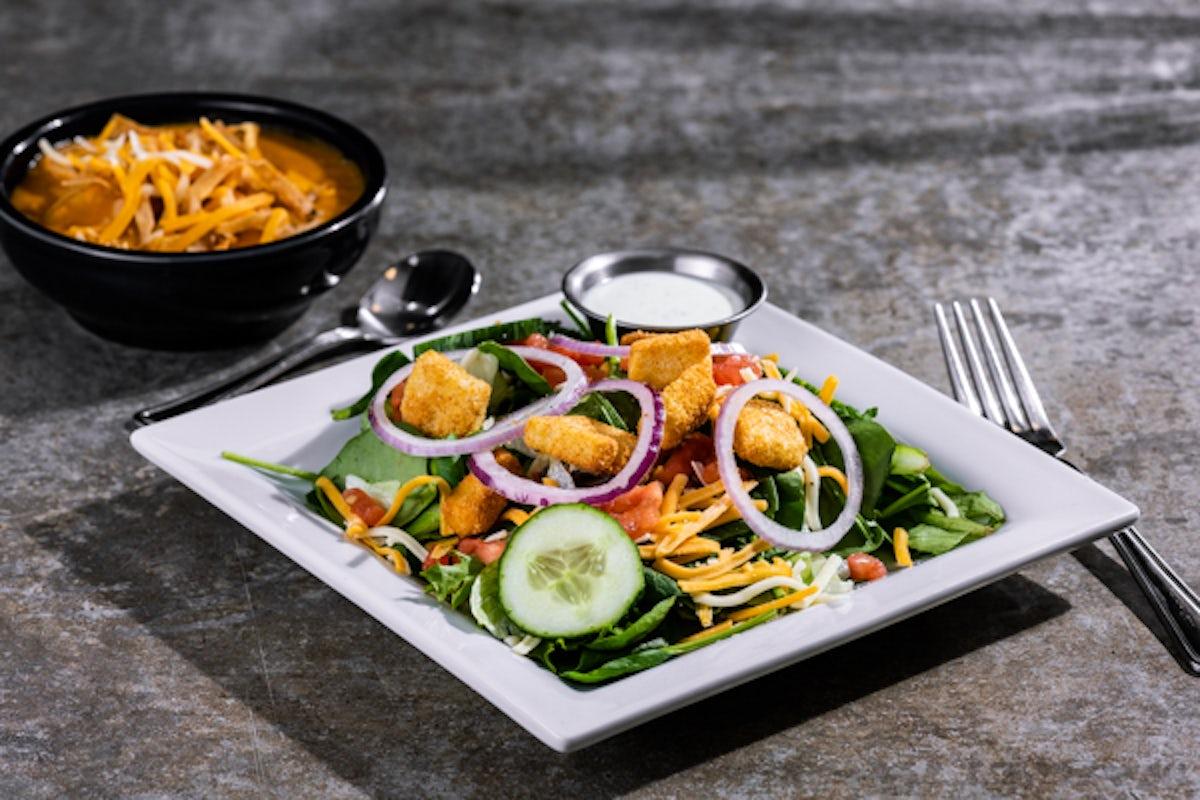 Soup & House Salad