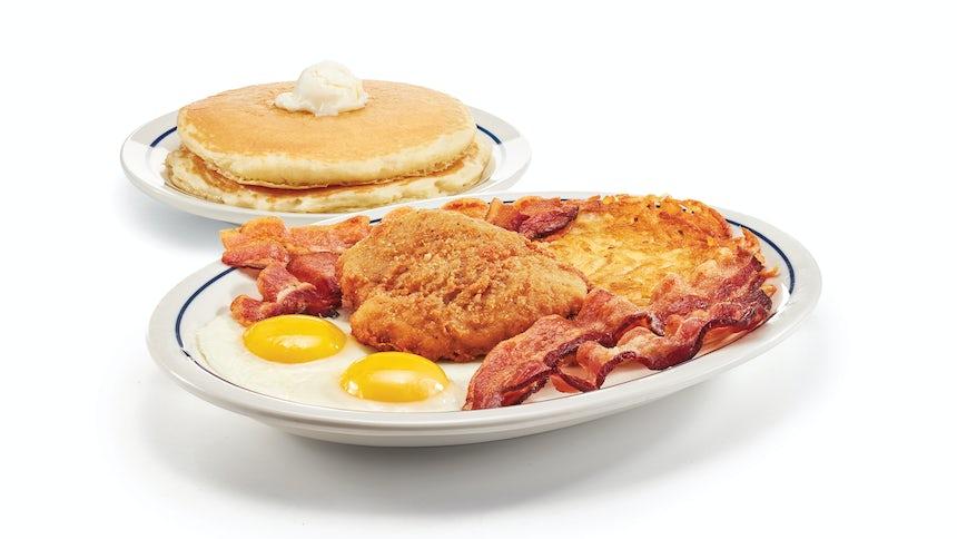 Crispy Chicken Breakfast Combo Image
