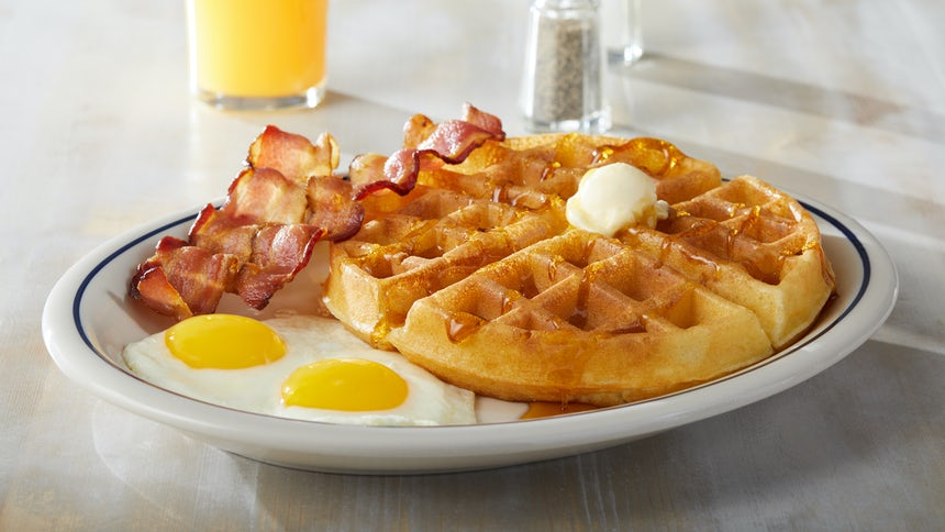 Belgian Waffles Combo Image
