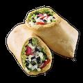 Hummus Veggie Wrap