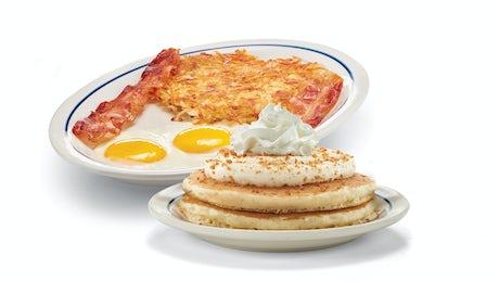 Build Your Crème Brûlée Pancake Combo Image