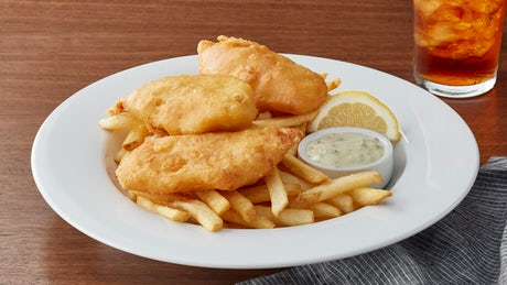 Crispy Fish & Chips Image