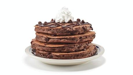 Chocolate Chocolate Chip Pancakes  Image