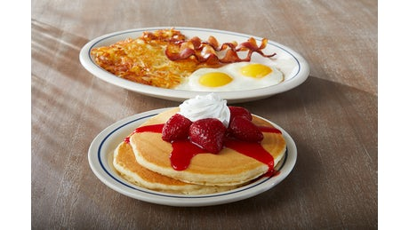 Build Your Pancake Combo Image