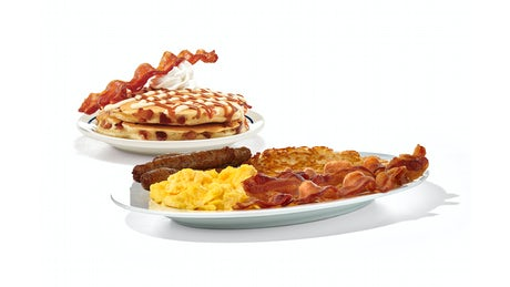 Build Your Candied Bacon Pancake Combo Image