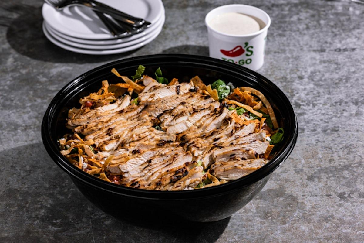 Party Platter Southwest Chicken Caesar Salad - Large