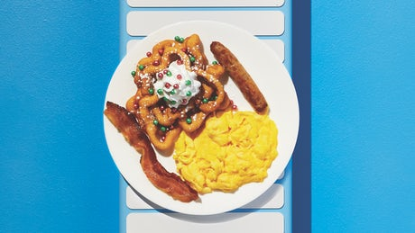 Little Elves Funnel Cake Combo Image