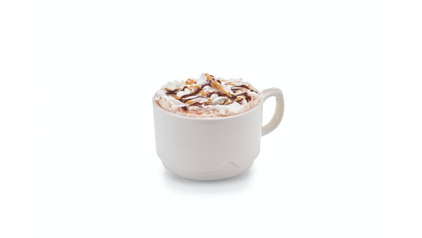 NEW! Peanut Butter Cup Cocoa Image