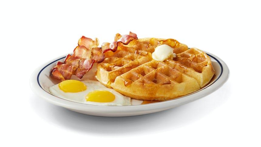 Belgian Waffle Combo Image