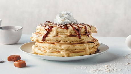 Mexican Tres Leches Pancakes Image