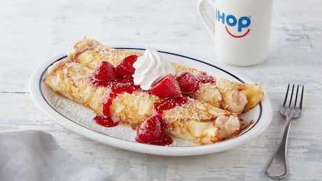Strawberry Vanilla Spice Crepes Image