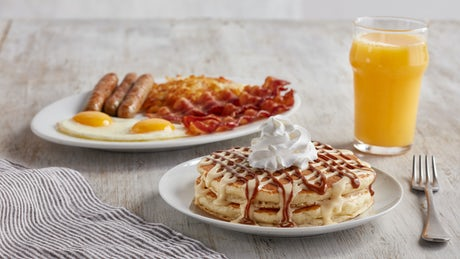 International Pancake Combo Image
