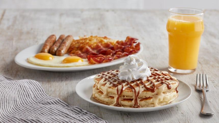 International Pancake Combo Image