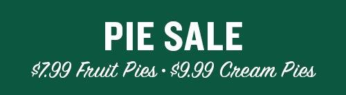 Pie Sale