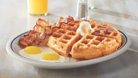 Gluten-Friendly Belgian Waffle Combo Image