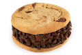 KISS N' TELL CHOCOLATE ICE CREAM COOKIE - 4 PACK READY FOR PICK UP NOW