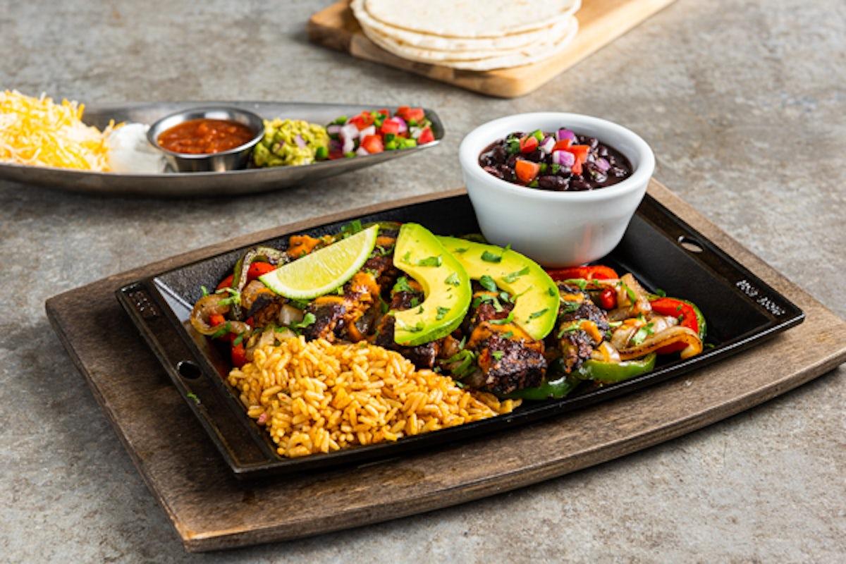 Black Bean & Veggie Fajitas