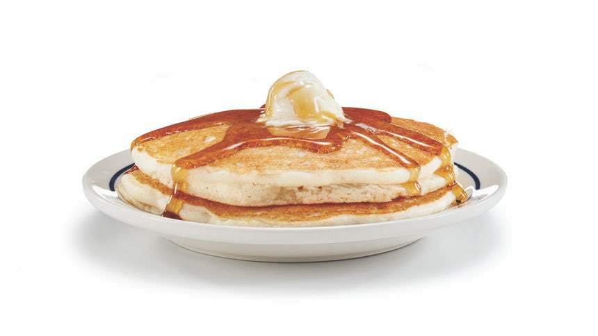 Original Gluten-Friendly Short Stack Pancakes Image
