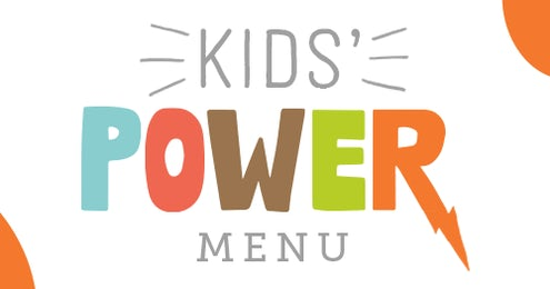 KIDS POWER MENU