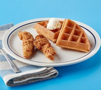 Jr. Chicken & Waffles