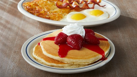 Build Your Pancake Combo Image
