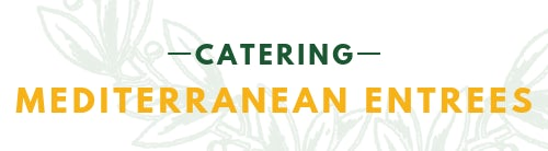 CATERING MEDITERRANEAN ENTREES