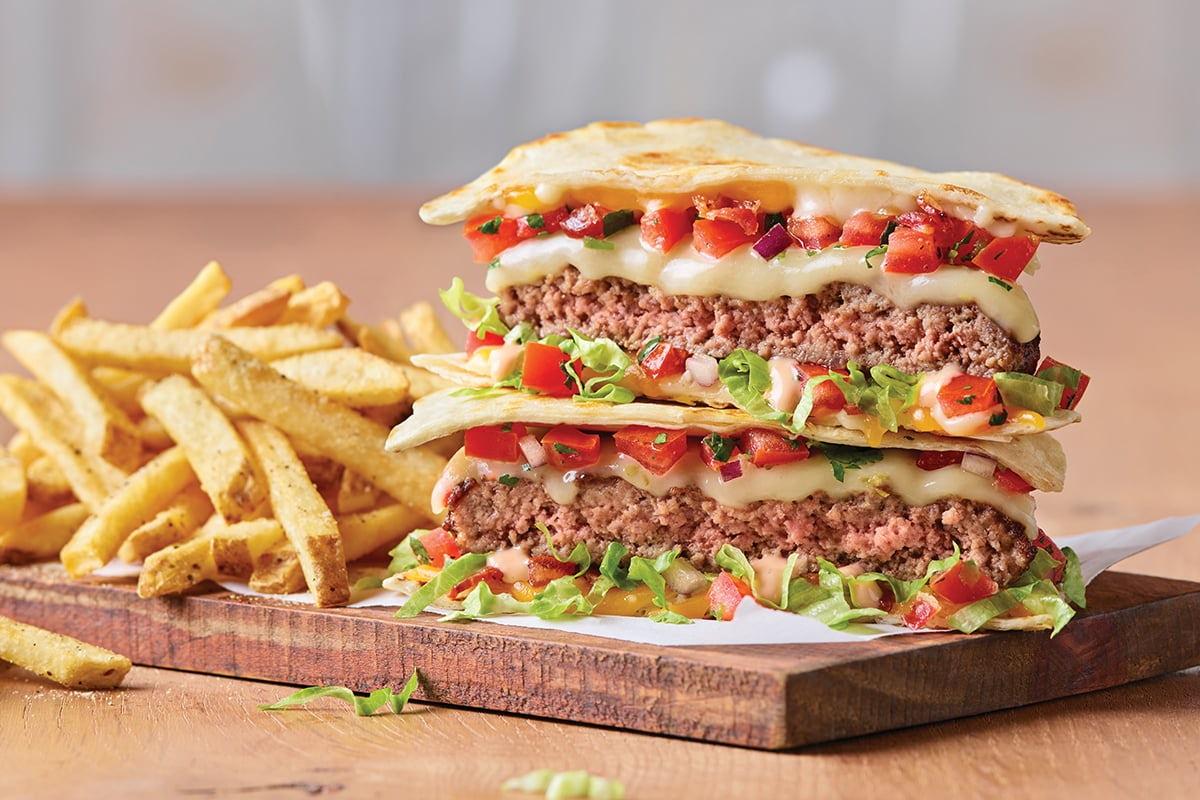 Quesadilla Burger Image