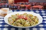 Pesto Chicken & Mushrooms