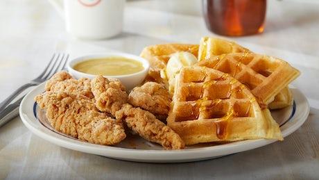 Chicken & Waffles* Image