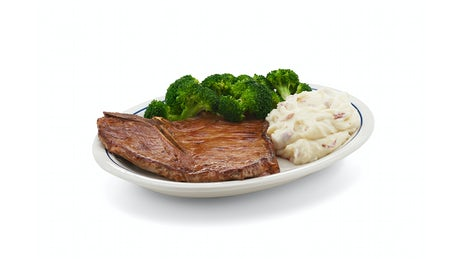 T-Bone Steak Dinner Image