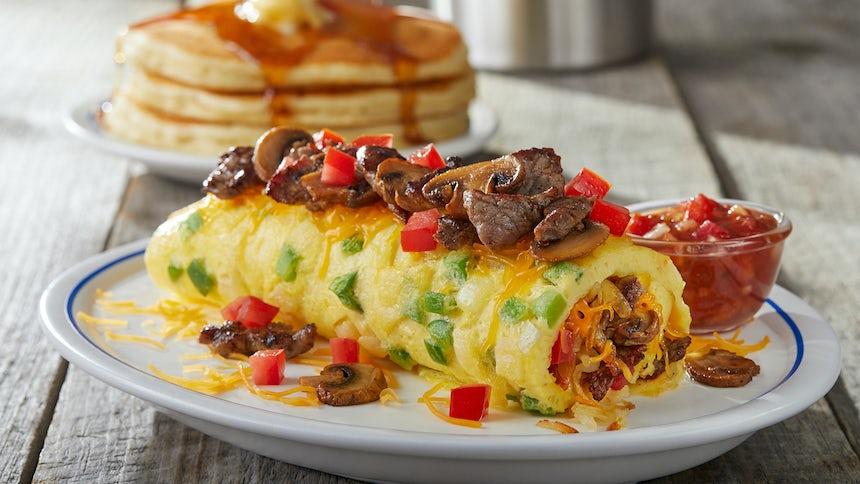 Big Steak Omelette Image