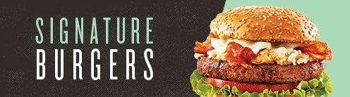 1/2 lb. Signature Burgers