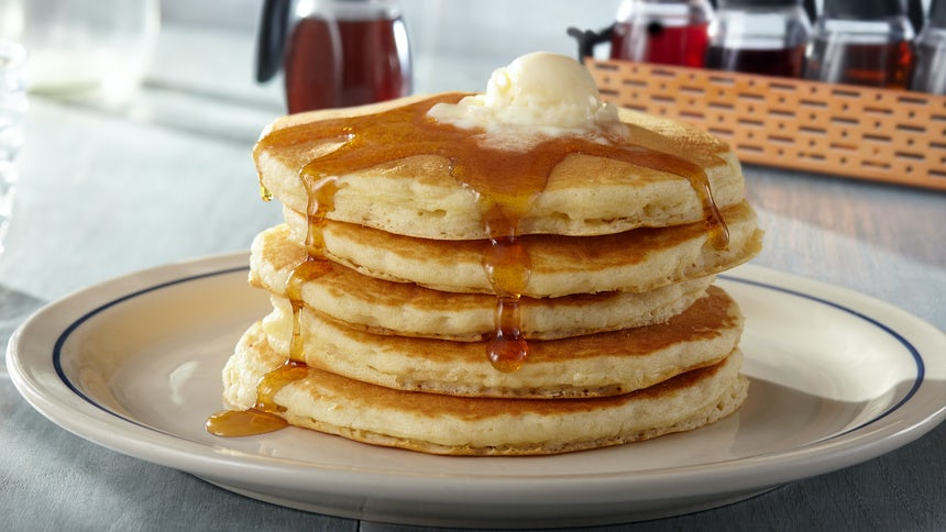 Original Full Stack Buttermilk Pancakes  Image
