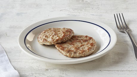 Turkey Sausage Patty Image