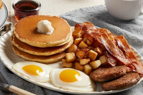 bob evans menu double meat farmer s choice breakfast