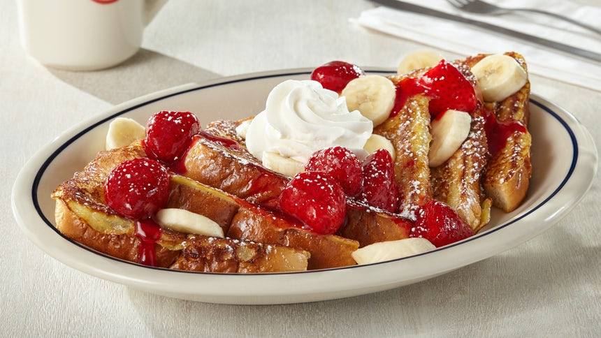 Strawberry Banana French Toast Image