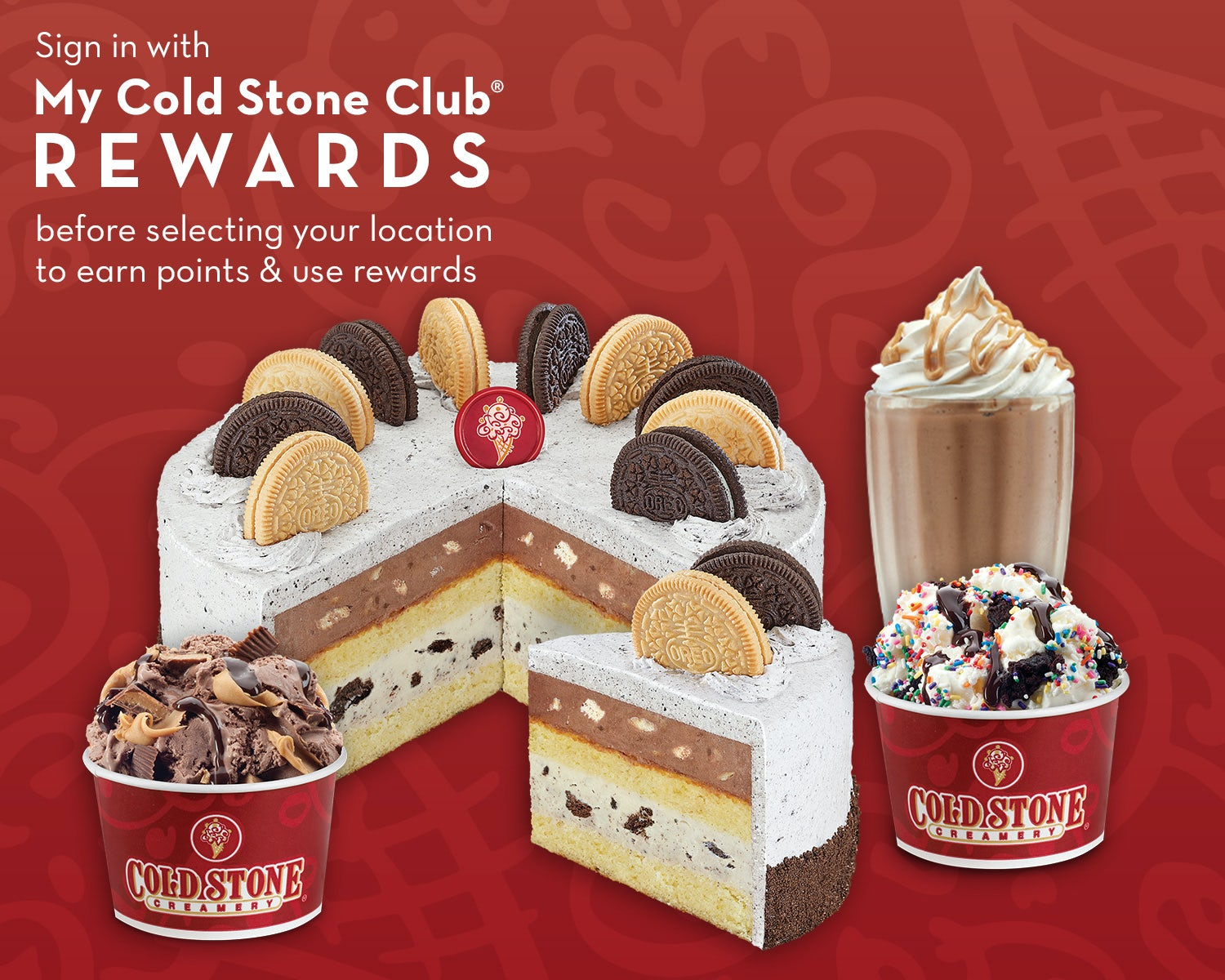 Cold Stone   Order Online