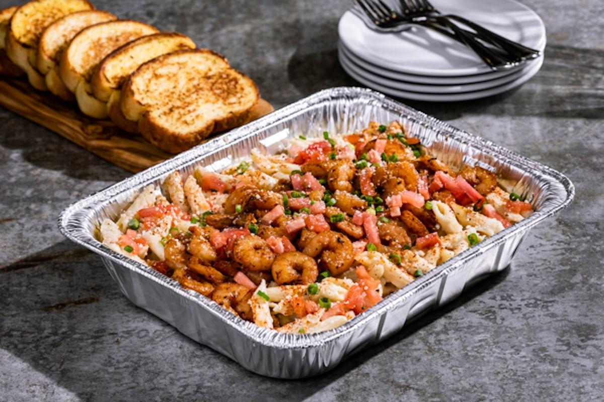 Shrimp Cajun Pasta Party Platter - Large