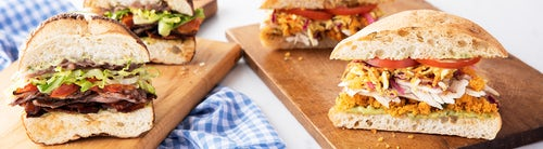SANDWICHES: FOODIE FAVORITES