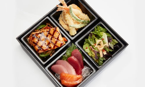 LUNCH - SHOGUN BENTO BOX