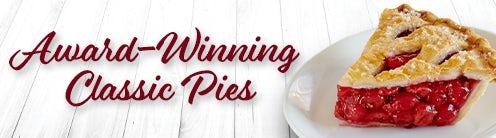 Award Winning Gourmet Pie Slices
