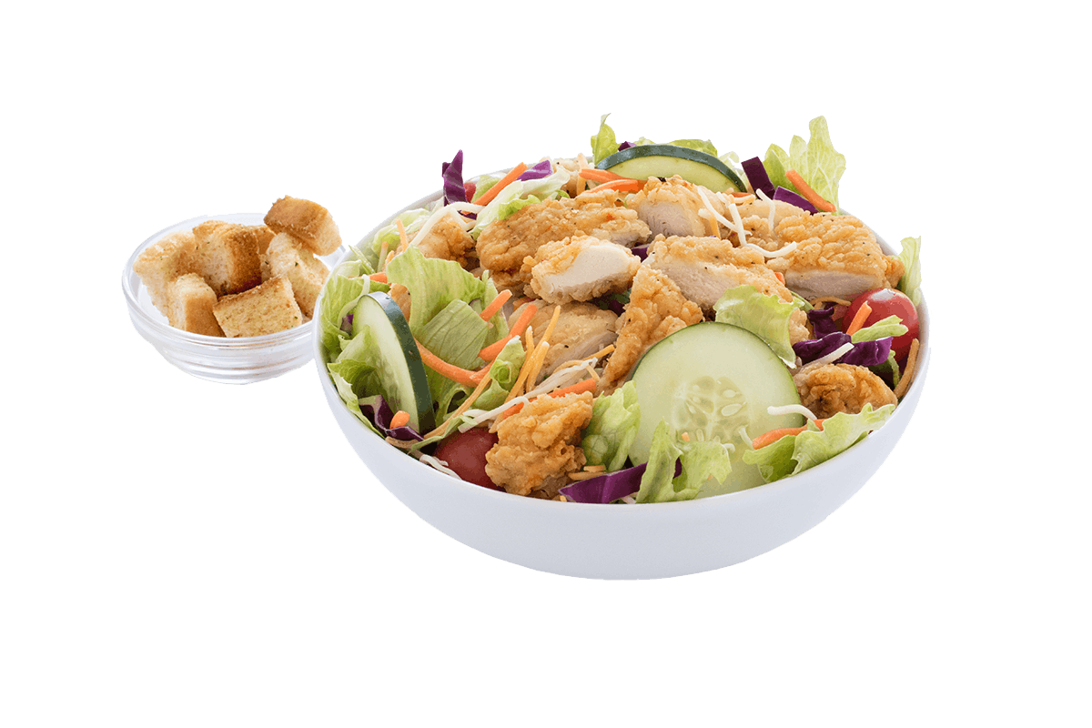 Homestyle Tenders Salad - 10:30AM to Close
