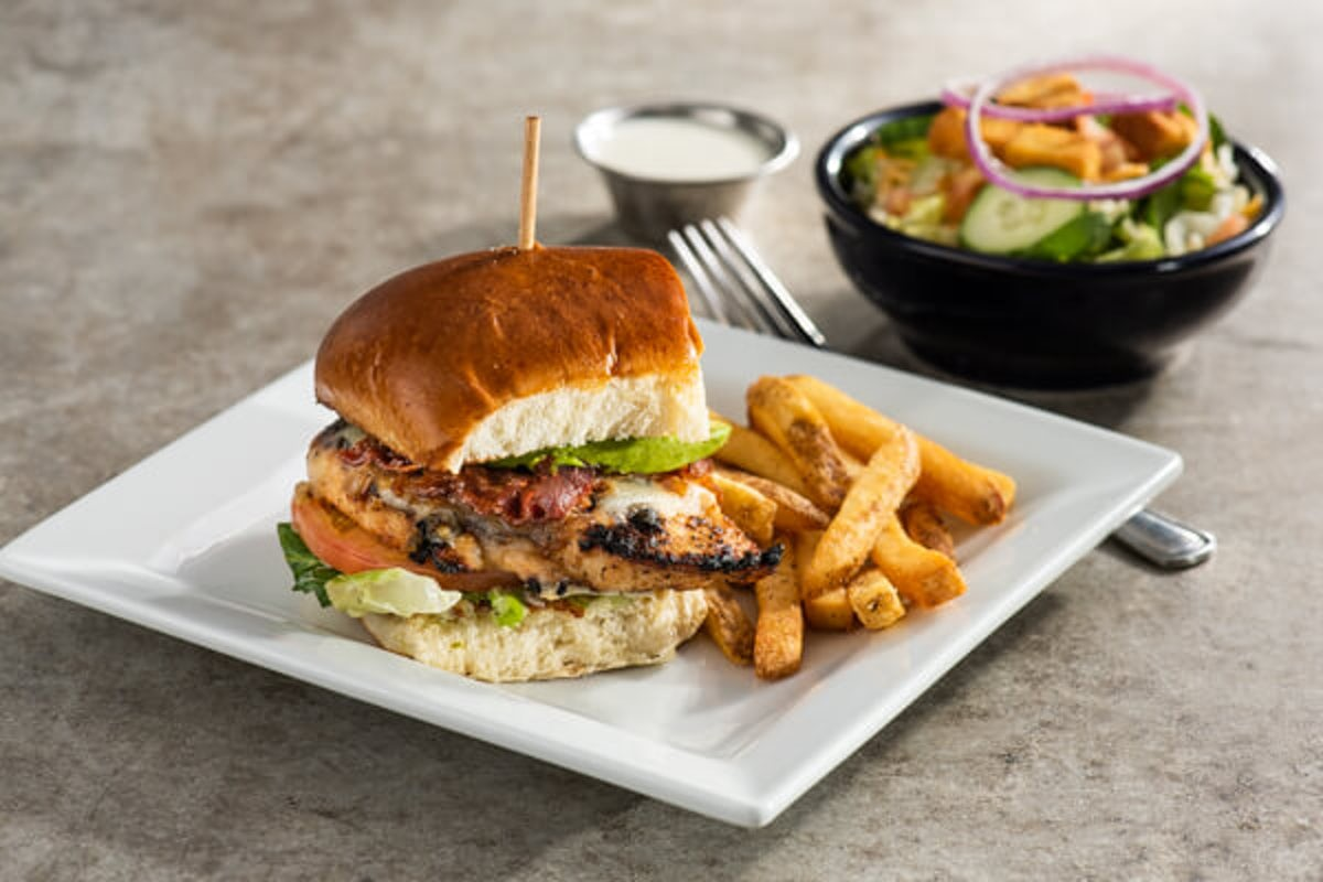 Lunch Combo - Bacon Avocado Grilled Chicken Sandwich